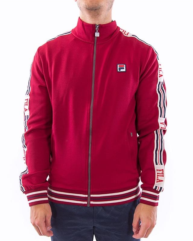 FILA Irodion Track Jacket | 687299 J93 | Röd | Kläder | Footish