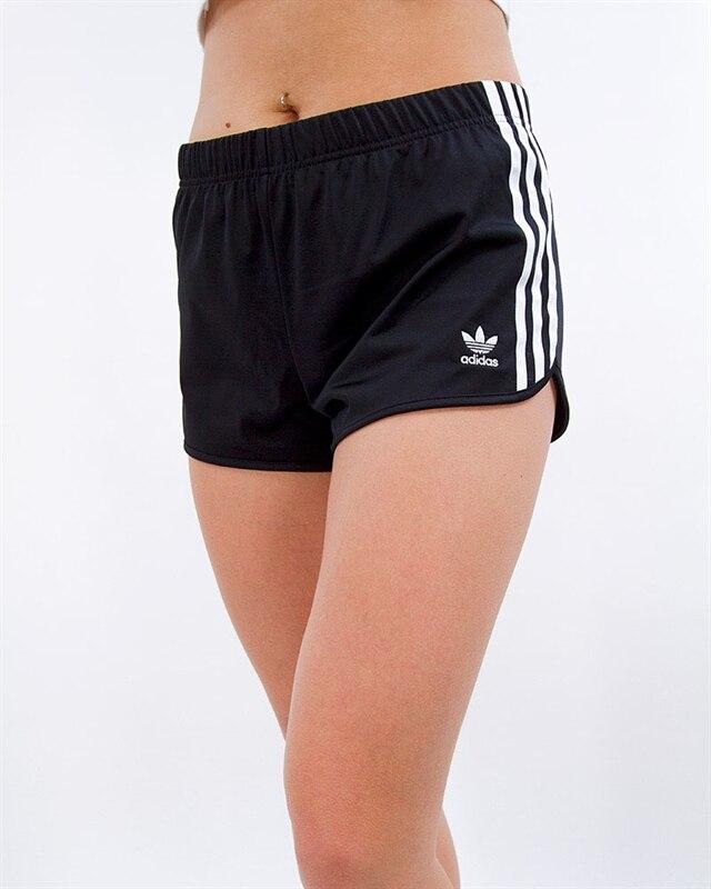 adidas Originals 3 Stripes Short | DV2555 | Black | Kläder | Footish