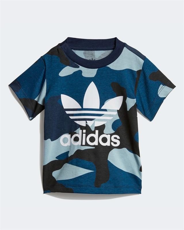 adidas Originals Camo T Shirt MulticolourUtility Black