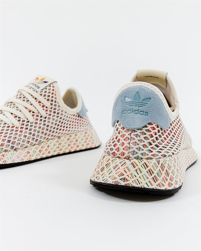 30bb7bd4f84a20 adidas Originals Deerupt Pride - CM8474 - White - Footish  If you re ...