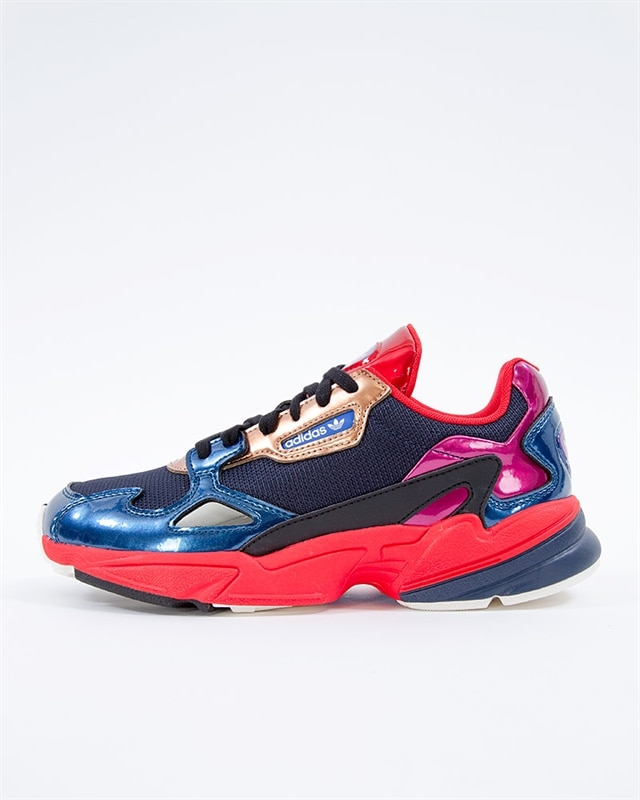 buy popular 27771 b8c52 adidas Originals Falcon W   CG6632   Blue   Sneakers   Skor   Footish