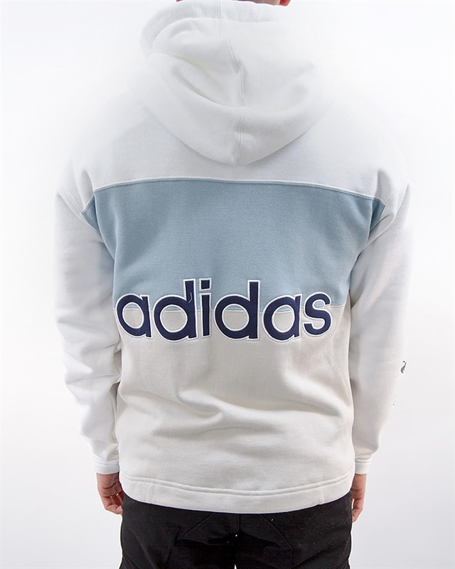 adidas Originals Full Zip Hoody | DV3143 | White | Kläder | Footish