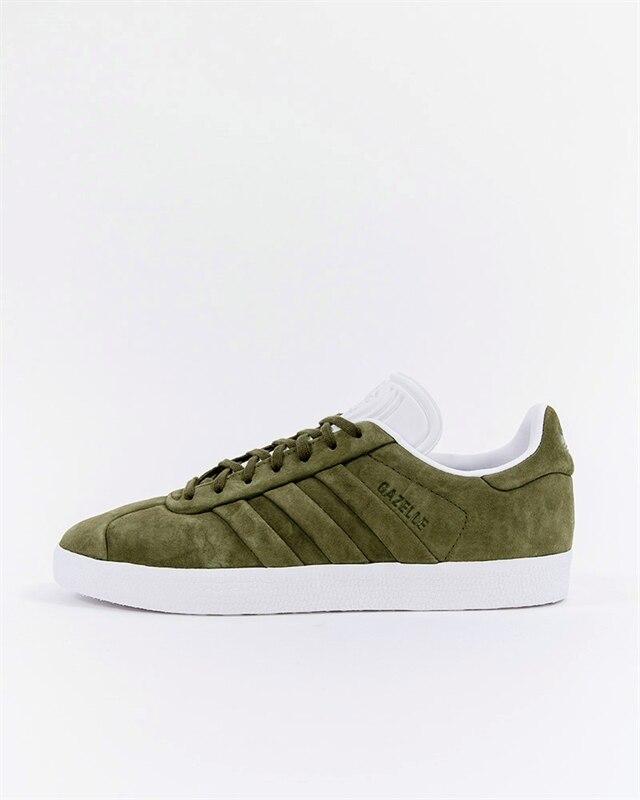 adidas Originals Gazelle Stitch And Turn (OliveWhite) CQ2359