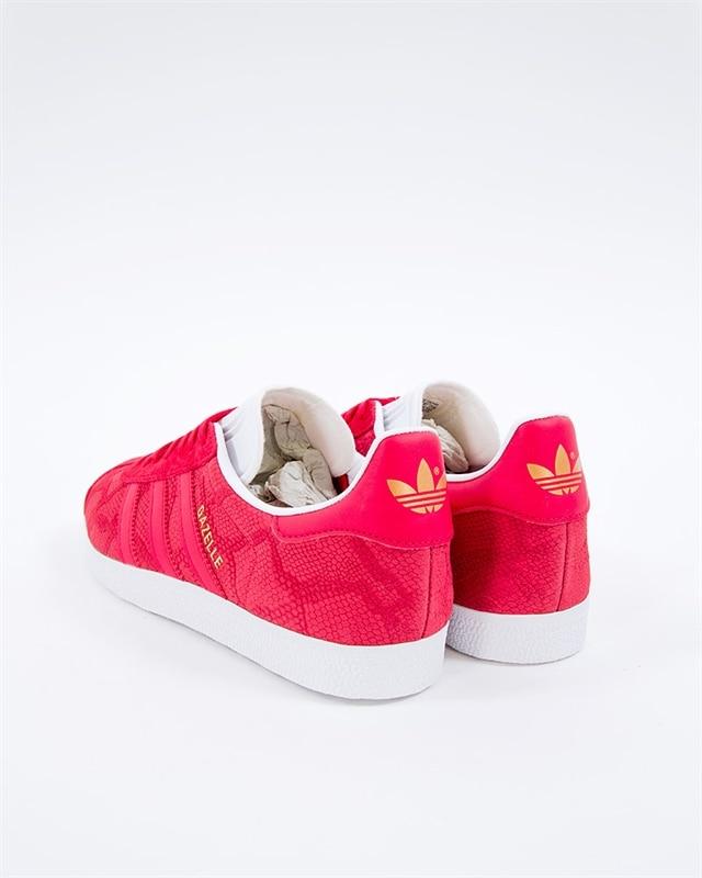 the latest 4015a 906bb ... denmark adidas originals gazelle w b41656 red sneakers skor footish  6b353 3ab37