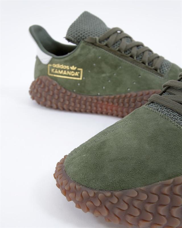 new style a4487 dc275 adidas Originals Kamanda 01  B96521  Green  Sneakers  Skor