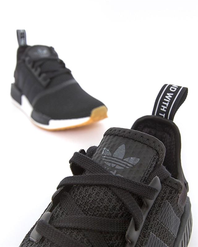 adidas NMD R1 Primeknit (7.5 D(M) US, Black)