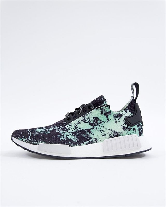 adidas Originals NMD R1 PK Green Marble | BB7996 | Black | Sneakers | Skor | Footish