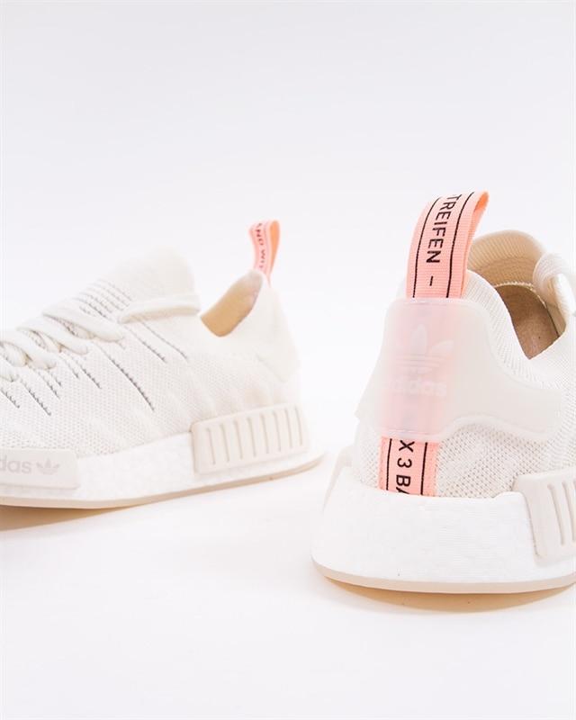 adidas Originals NMD R1 STLT PK W - B37655 - White - Footish  If you ... 8935e9d36