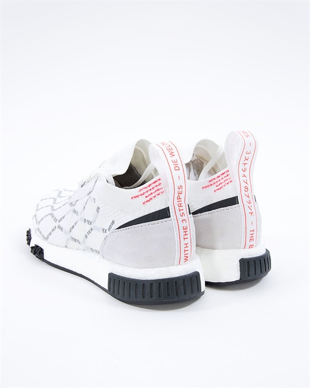 2be9a45678 adidas Originals NMD Racer GTX PK | BD7725 | White | Sneakers | Skor ...