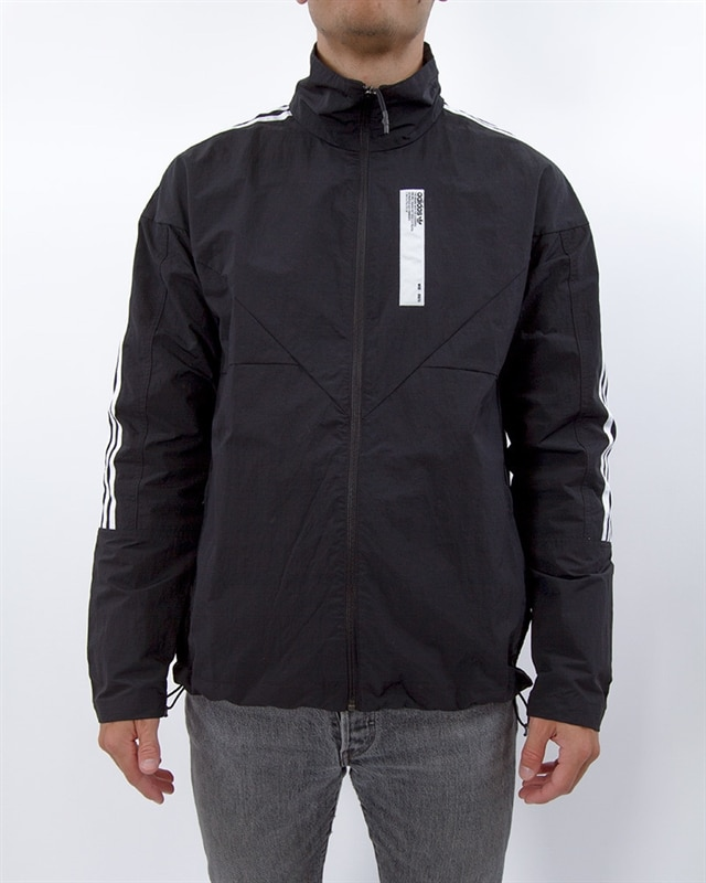 adidas Originals NMD Track Top   DH2276   Black   Kläder   Footish