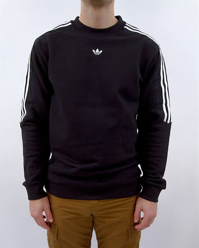 77f5efde070 adidas Originals Radkin Crewneck | DU8141 | Black | Kläder | Footish