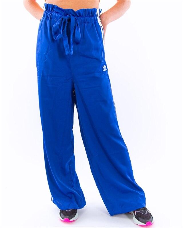 adidas Originals Satin Track Pants | ED4773 | Blue | Kläder | Footish