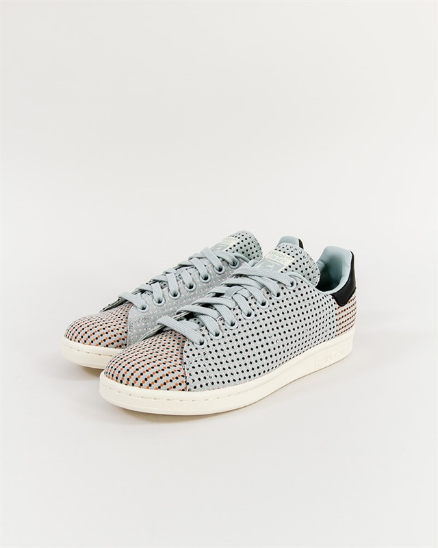 Adidas Originals Stan Smith Bold Platform Dam SvartVit Dot