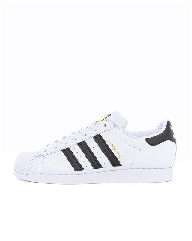 adidas superstar high top black and white