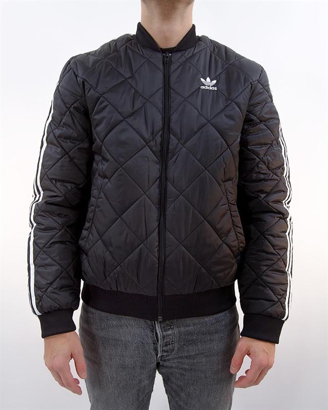 good selling official images big sale adidas Originals Superstar Quilted Jacket | DV2302 | Black | Kläder |  Footish