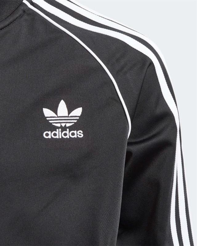 adidas Originals Superstar Track Jacket J | CF8555 | Svart | Kläder | Footish