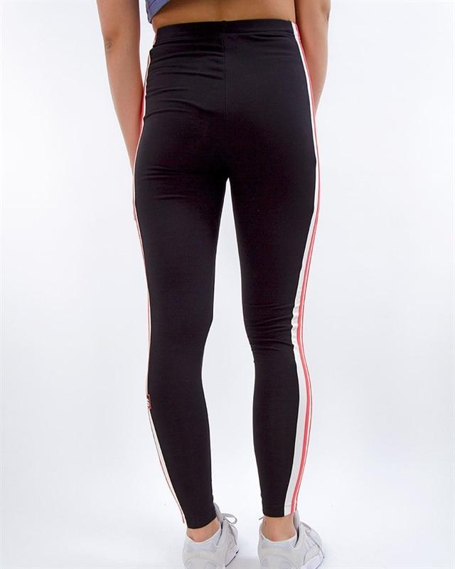 vintage early 90s REEBOK leggings black spandex colorful workout pants XS