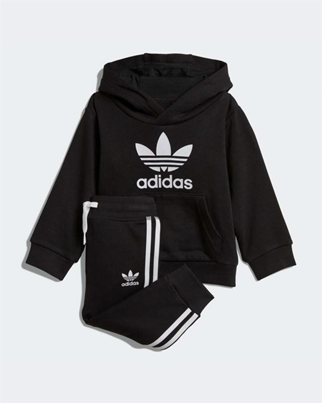 e22da9bfa adidas Originals Trefoil Hoodie | DV2809 | Black | Kläder | Footish