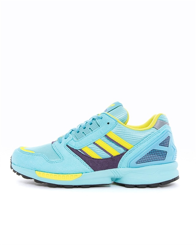 adidas Originals ZX 8000 | EG8784 | Blue | Sneakers | Skor | Footish