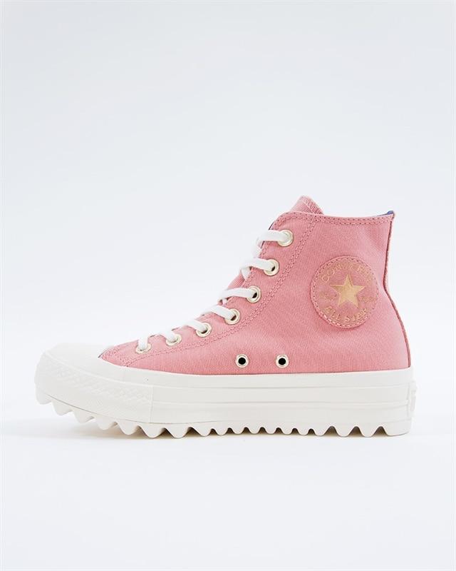 5bcb0e74b459 Converse All Star Lift Ripple HI - 561670C - Pink - Footish  If you re ...