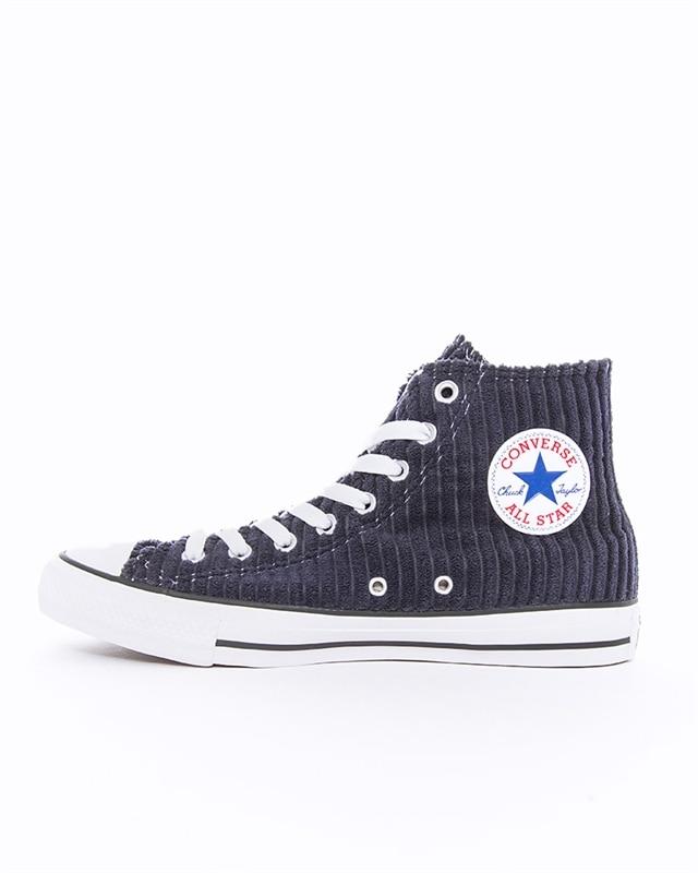Converse Chuck Taylor All Star HI | 165146C | Blue | Sneakers | Skor | Footish