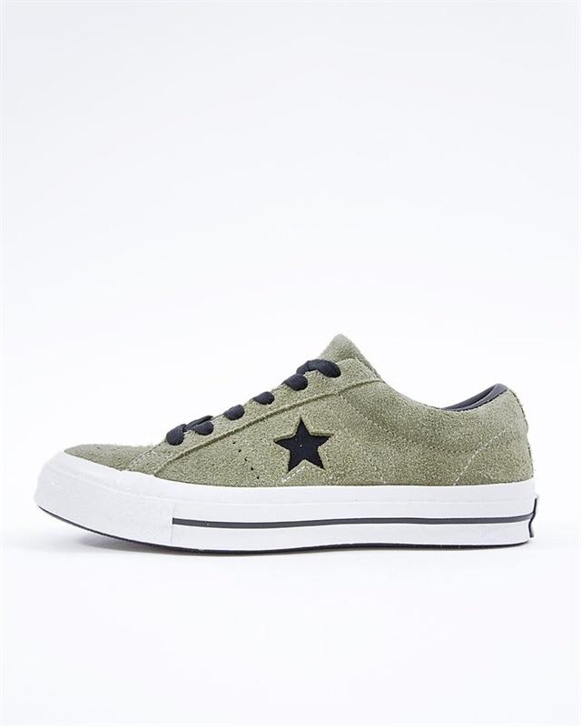 8477bc8658a Converse One Star OX | 163249C | Svart | Sneakers | Skor | Footish