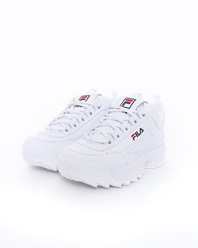 FILA Disruptor Kids | 1010567 1FG | Vit | Sneakers | Skor | Footish