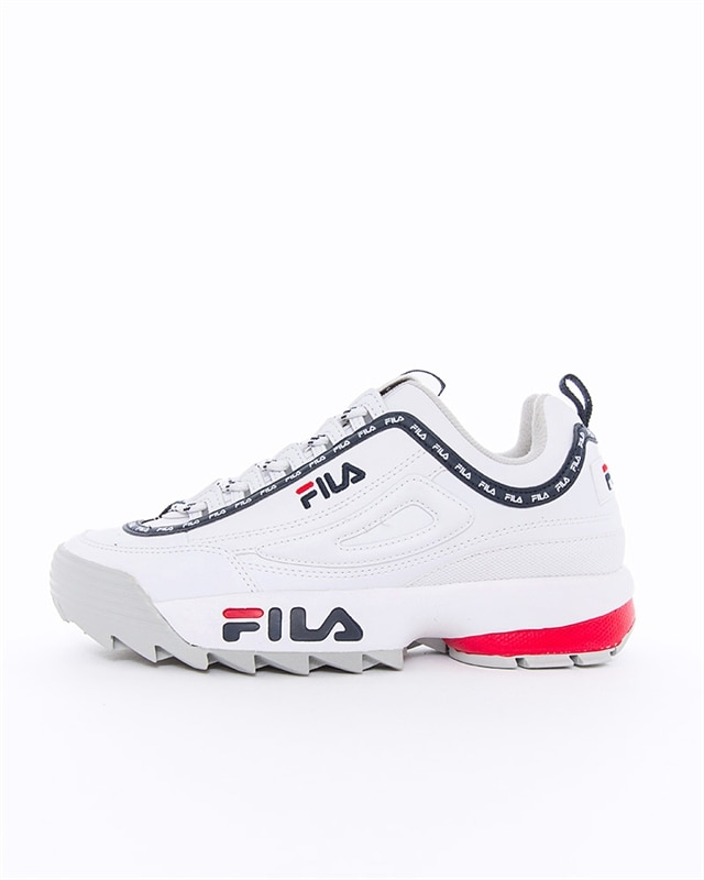 FILA Disruptor Logo Low Wmns | 1010748.1FG | Vit | Sneakers | Skor | Footish