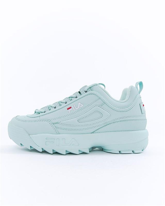FILA Wmns Disruptor Low | 1010302 50T | Gr?n | Sneakers | Skor | Footish