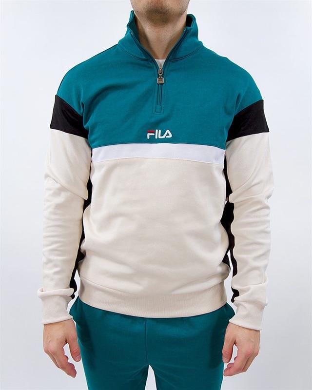 804dffe1d2ee FILA Fila Herron Half Zip Track Top | 682356-A081 | Green | Kläder ...