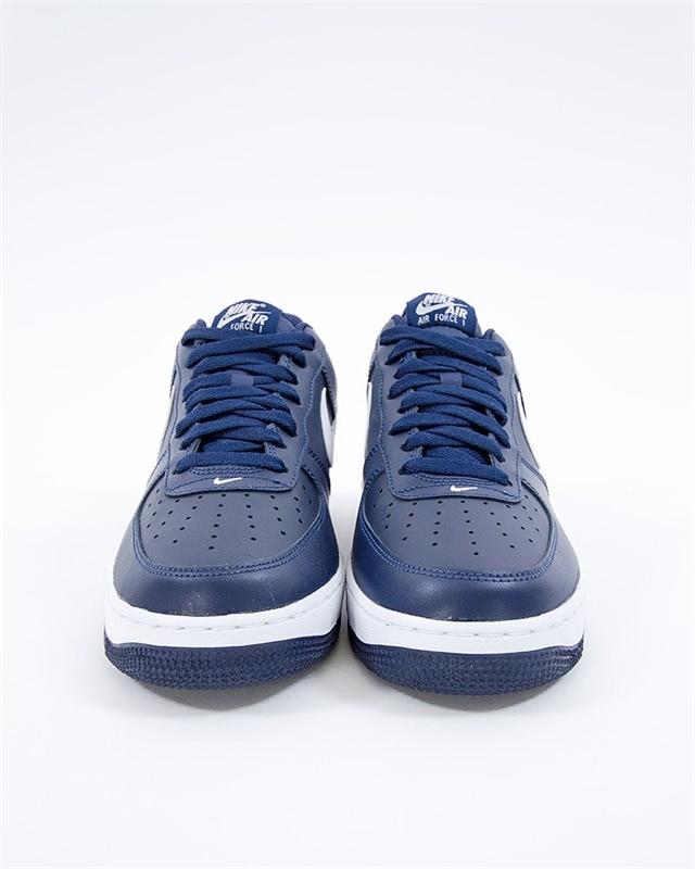 promo code 69ae1 0c44c Nike Air Force 1 07   488298-436   Blue   Sneakers   Skor   Footish