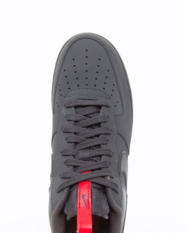 Details about Nike Air Force 1 Low '07 Anthracite Black Red Sizes 6 13UK BQ4326 001
