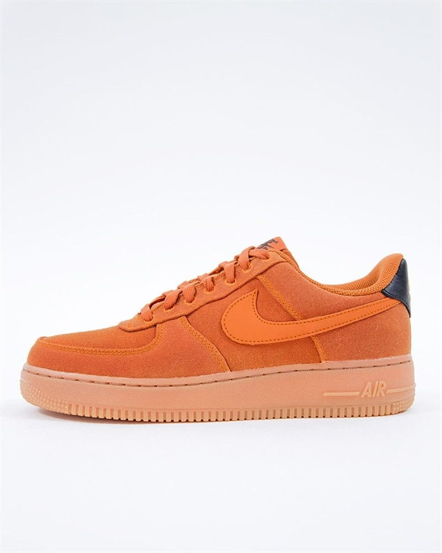 size 40 c0320 29dde Nike Air Force 1 07 LV8 Style | AQ0117-800 | Orange | Sneakers ...