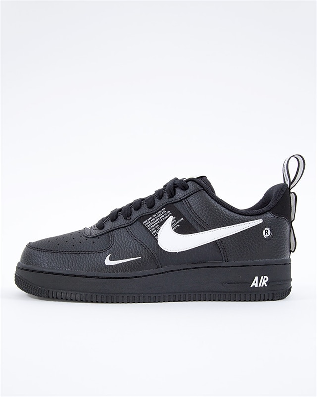 Svarta Nike air force 1