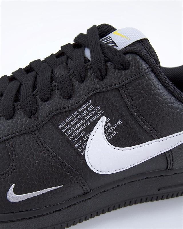 Nike damen sneaker air force 1 black utility