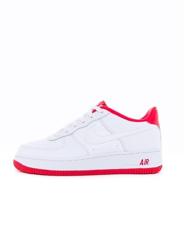 Nike Air Force 1 Low Suede Herr Skor University Red Vit