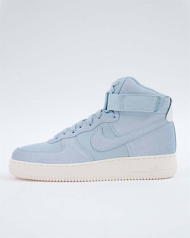 Nike Air Force 1 High 07 Suede - AQ8649-400 - Blue - Footish  If you ... 066724cf063f