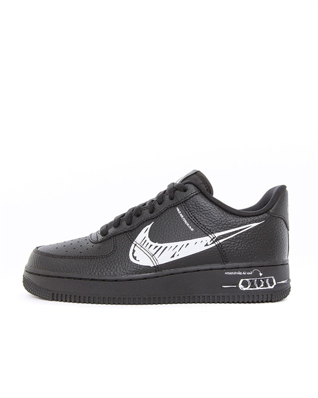 Nike Air Force 1 LV8 Utility   CW7581 001   Black   Sneakers   Shoes   Footish