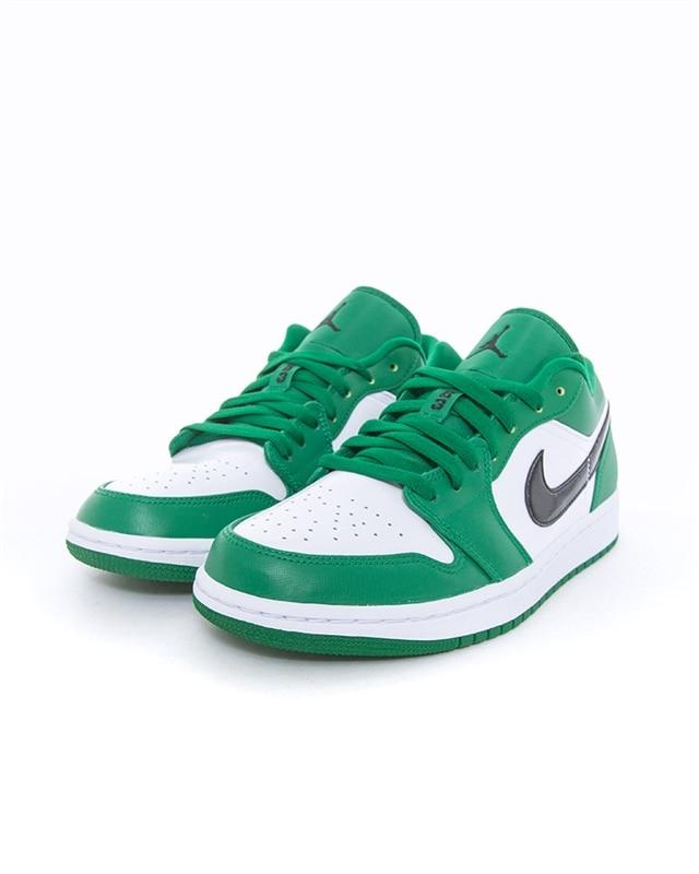 Nike Air Jordan 1 Low | 553558 301 | Grön | Sneakers | Skor | Footish