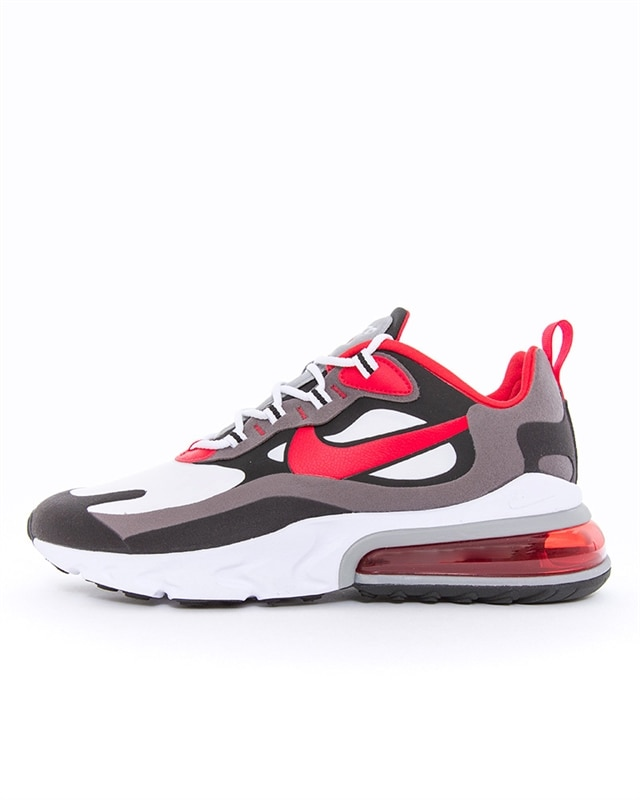 Nike Air Max 270 React Sneakers BlackUniversity RedWhiteIron Grey