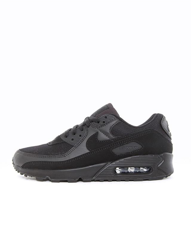 Nike Black Nike Air Max 90 Leather Trainers 31.5 (UK 13) | Goxip