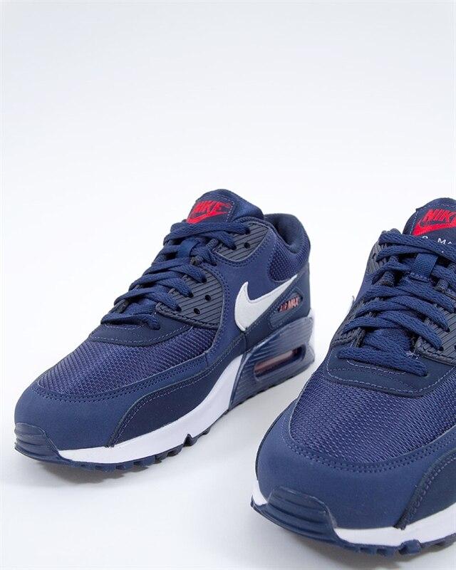 Nike Air Max 90 Essential Midnight Navy White Sneakers AJ1285 403