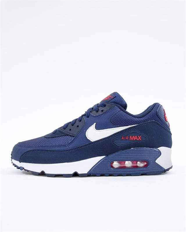 f9c4d39217 Nike Air Max 90 Essential | AJ1285-403 | Blue | Sneakers | Skor ...
