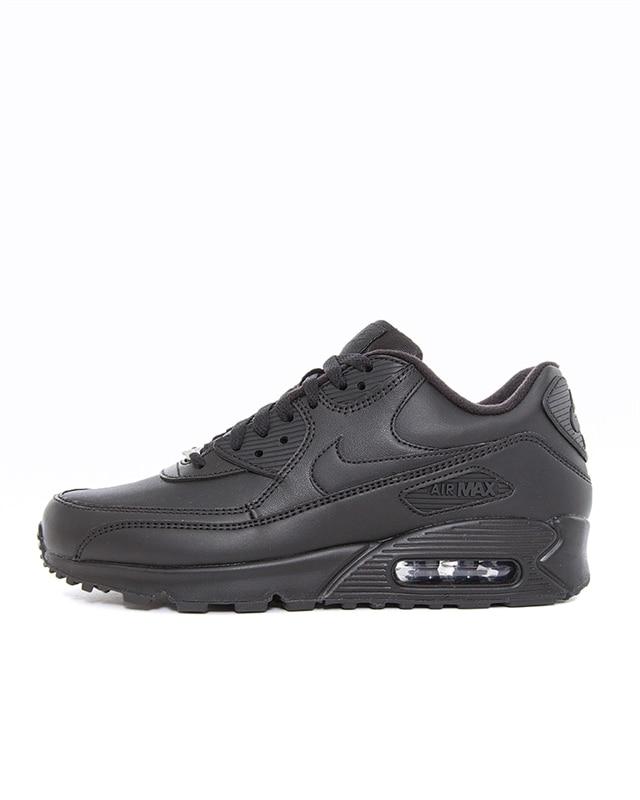 Nike Air Max 90 Leather | Svart | Sneakers | 302519 001