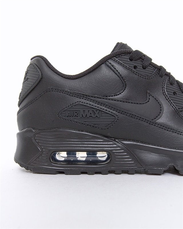 Nike Air Max 90 Leather GS shoes black