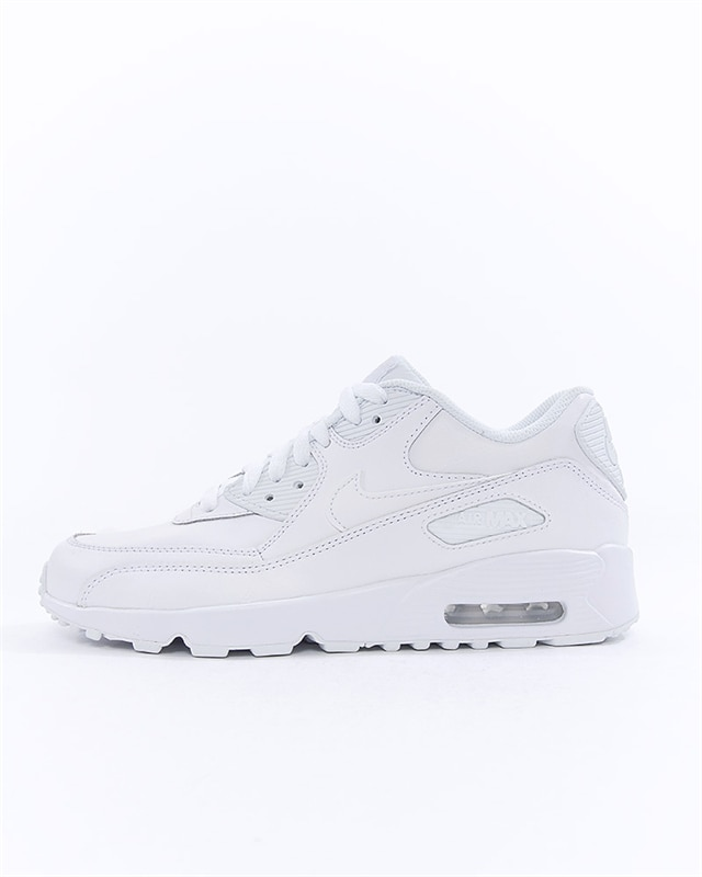 new arrival 85df3 9e8d1 Nike Air Max 90 Leather (GS) (833412-100)