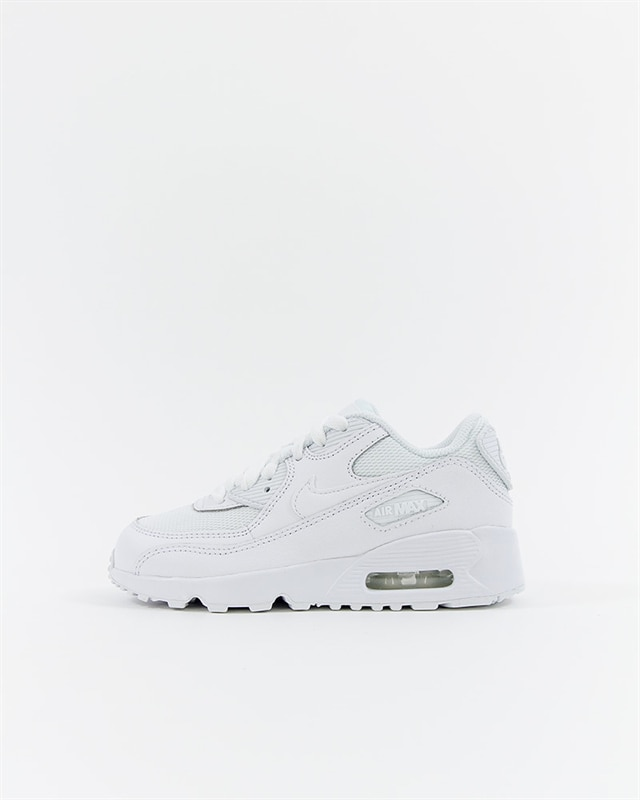 Nike Air Max 90 Mesh (PS) Pre-School - 833420-100 - White - Footish ... cf659e9145d6