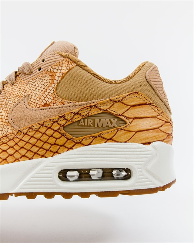 Nike Air Max 90 Premium Leather AH8046 200 Brown Footish: If you're into sneakers