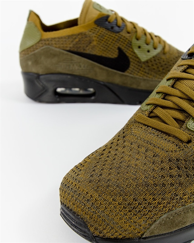 9527465dae4d ... cargo  Nike Air Max 90 Ultra 2.0 Flyknit - 875943-302 - Green - Footish  If ...