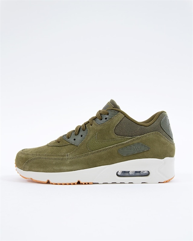wholesale dealer 39c97 a7064 Nike Air Max 90 Ultra 2.0 Leather | 924447-301 | Green | Sneakers ...